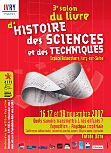 salon du livre d 39 histoire des sciences 2007 yvry sur seine hominid s. Black Bedroom Furniture Sets. Home Design Ideas