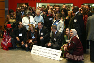 Photo de groupe - Colloque de la SBH 2005