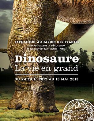Dinosaure La Vie En Grand Exposition Visite Paris Hominides