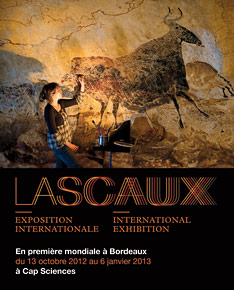 Lascaux exposition internationale à Bordeaux