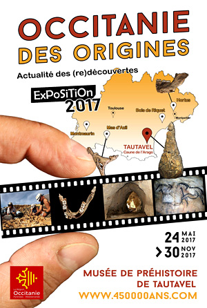 Exposition Occitanie des origines - Tautavel