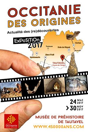 Exposition Occitanie des origines - Tautavel