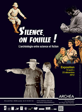 Silence on fouille ! Exposition