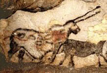 Licorne - Salle des taureaux - Lascaux