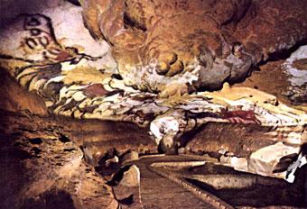 Salle des taureaux - Lascaux