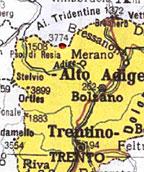 Otzi - Plan de la région
