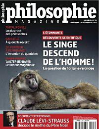 Le Magazine Philosophie : Le singe descend de l'homme ou la découverte de Ardi