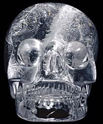 Le 13 ème crâne de cristal Crane-cristal
