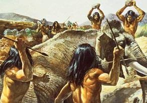 comment chasser les hommes prehistoriques