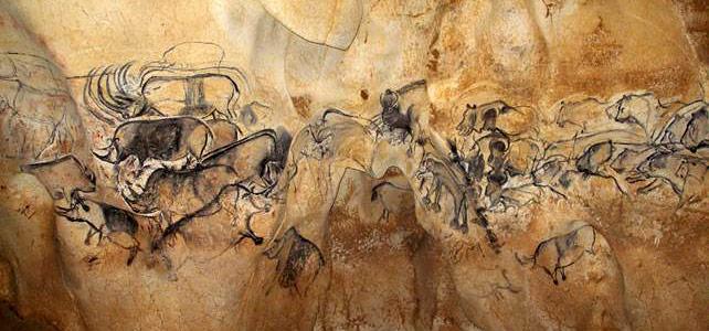 La grotte Chauvet, grande fresque
