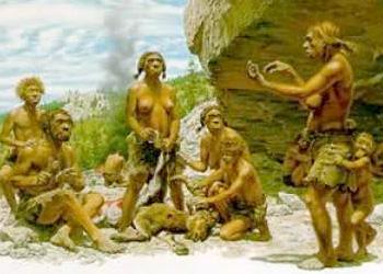 rencontre homme primitif