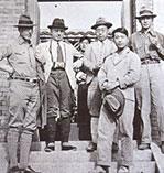 Les découvreurs du site de Zhoukoudian
