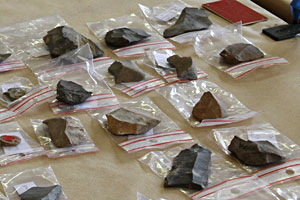 Enregistrements des pieces