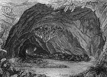Comment dessiner une grotte - Coloriage grotte ...