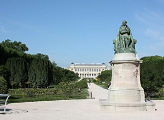 Jardin des plantes paris hominid s - Statue de jardin belgique ...