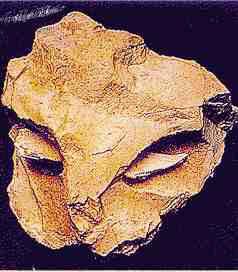 Masque Moustérien attribué à Neandertal