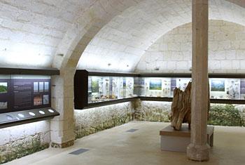Le sous-sol du Musée du Grand Pressigny