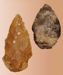 Des outils de pierre taillée à Saint-Astier