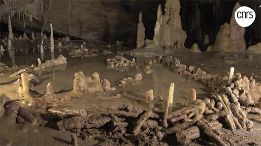 Structures en cercles de Bruniquel