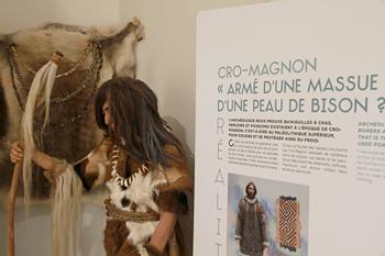 Abri Cro-Magnon - visite - images - Hominidés
