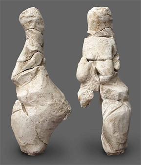 Une nouvelle vénus gravettienne datée de - 23 000 ans (Amiens) Venus-renancourt-face-profil